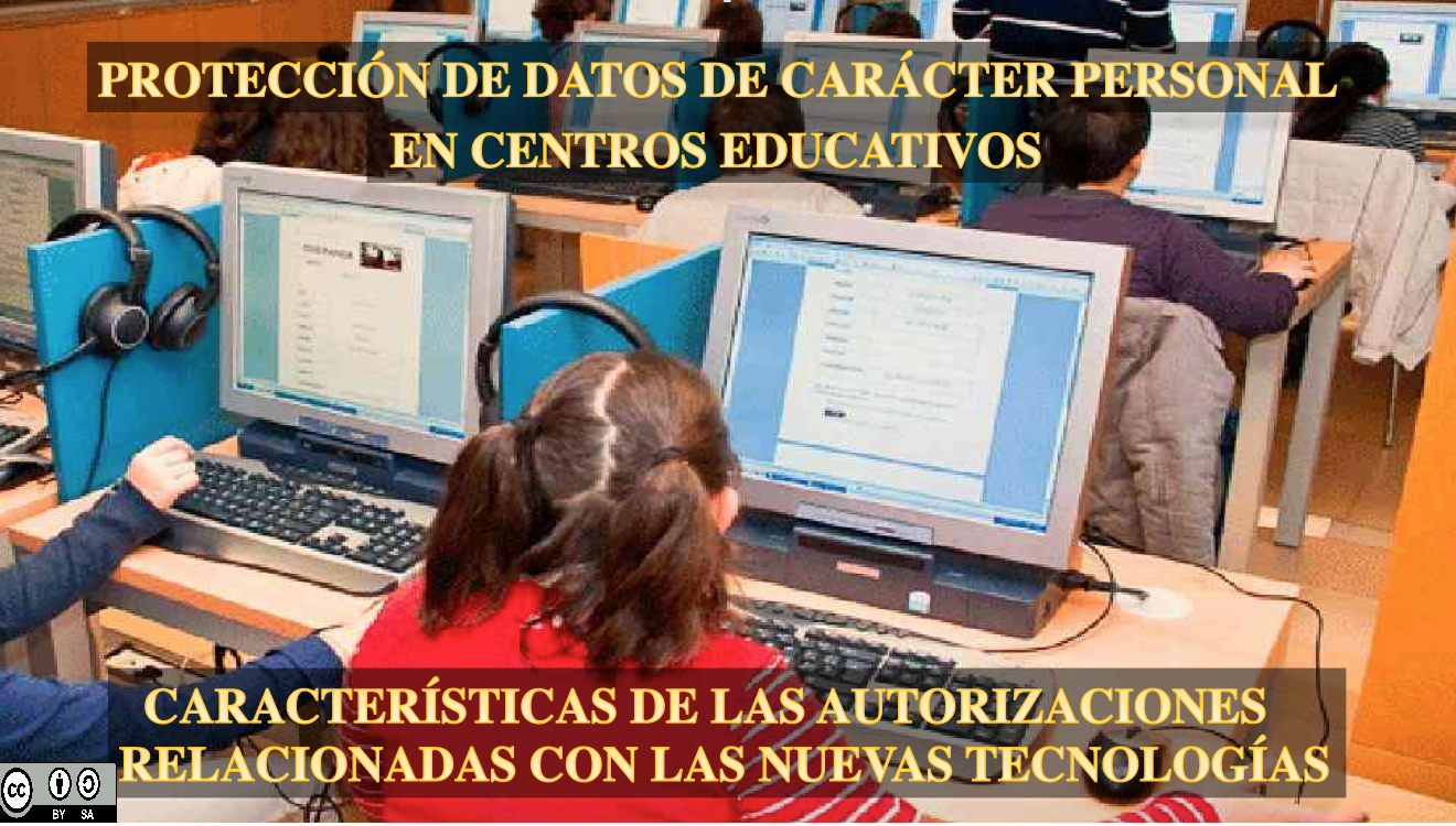 Protección datos en centros educativos